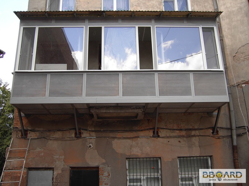 Добавление балконов утепление увеличение в г. харьков предла.