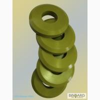 Резиновый прижимной ролик для моечной линии Metall Glas Ltd (Венгрия) Д100х40х17мм