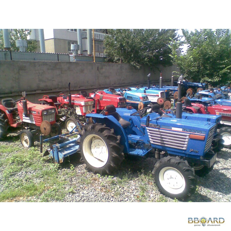 Японские минитрактора - Японские трактора