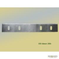 Нож двухсторонний отсекающий бумагу для картонно-тарного производства