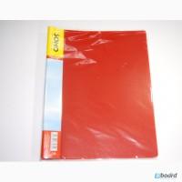 Папка-скоросшиватель А4 усики красная