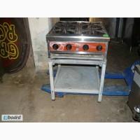 Купить плиту б/у CustomHeat ТТ4-24CE профессиональную газовую