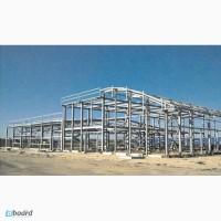 Изготовление металлокаркасов, быстровозводимых зданий складов, павильонов, навесов, ангаров
