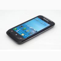 Смартфон Lenovo A308t, эк.4дюй.2сим.2яд.3.2мп.Черный