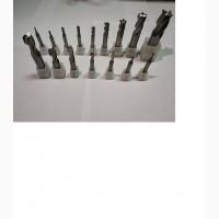 Фрезы концевые, фрезы шпоночные (Р6М5К5, HssCo)