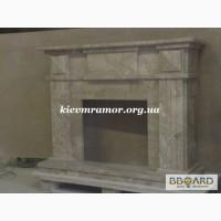 Мраморные порталы каминов изготовление и готовые