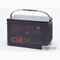 Csb gpl 121000 аккумулятор гелевый технология agm срок службы - до 10 лет для ИБП, котлов.