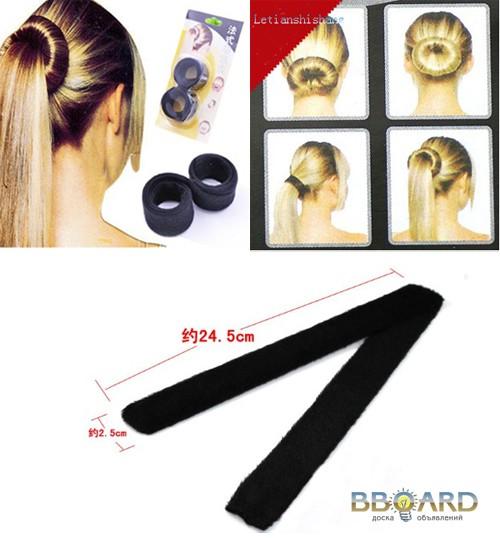 Как сшить заколки для волос 311