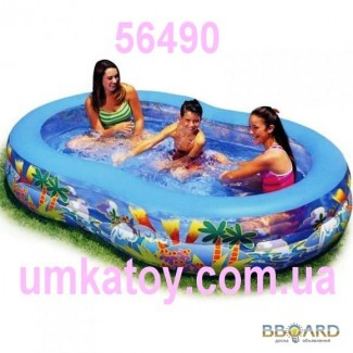Интекс Intex 56490 семейный бассейн Овал