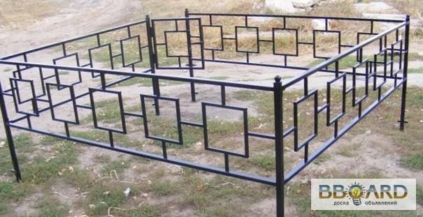 Как сделать ограду для могилы