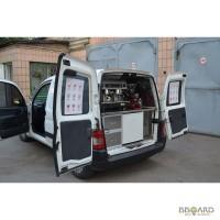 Мобильная кофейня под ключ - переоборудование авто под кофемобиль !