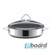 Сковорода - жаровня из нержавеющей стали с термораспределительным дном