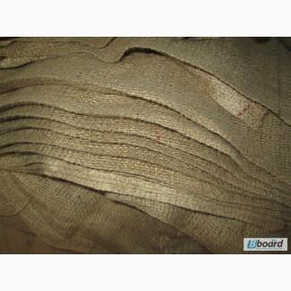 Мешковина, ткань джутовая