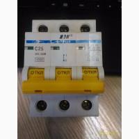 Автоматический выключатель ВА47-29М 3п, С, 25А, IEK