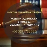 Адвокат в Киеве. Юридическая помощь