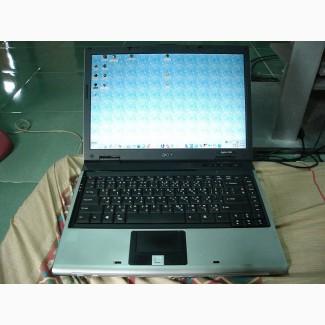 Недорогой офисный ноутбук Acer Aspire 5541 (2ядра 2 часа)