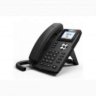 Fanvil X3S, sip телефон 2 SIP аккаунта, 2 порта Ethernet 10/100 Мбит/с