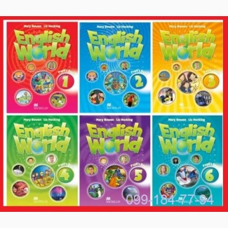 Продам English World 1, 2, 3, 4, 5, 6 Pupilsbook + workbook
