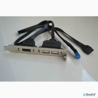 Монтажная планка расширения USB 2.0 и SATA