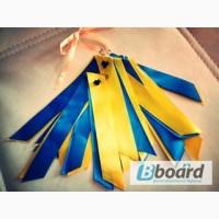 Лента флаг Украины жовто-блакитна, ленточка Украины Опт Розница
