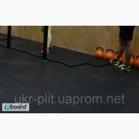 Ударопрочное покрытие для тренажерного фитнесзала кроссфит