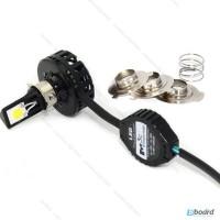 Led лампа для мотоцикла скутера, High 18W Low 12W, ближний дальний свет