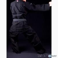 Черное плетенное кимоно (ДО.ГИ) для единоборств (Master 2) Италия