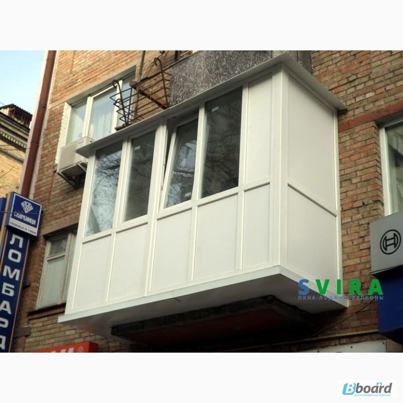 Фото к объявлению: металлопластиковые окна, балконы под ключ.