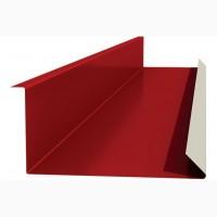 Планка примыкания для крышы, кровельная планка примыкания верхняя и нижняя