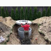 Септики из бетонных колец, автономная канализация