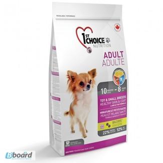 Корм для собак 1st Choice (Фест Чойс) для взрослых собак мини пород с ягненком