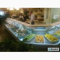 Продам холодильную витрину прилавок РОСС Sorrento Угловая УН-1, 1 б/у в ресторан, кафе