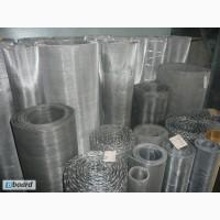 Сетка тканая н/ж 20х2 мм сталь 12Х18Н10Т Гост-3826 ширина 1 м