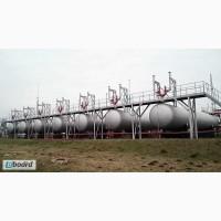 Емкости, резервуары сжиженных газов, пропан бутан СУГ наземные от 5м до 25м