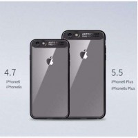Оригинальный бампер ROCK iPhone 6/6s Plus 7/7 Plus 8/8 Plus X 10 | 3D стекло Mocolo