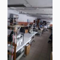 Швейное предприятие продаст оборудование оптом