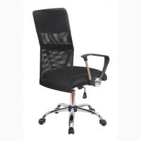 Кресло компьютерное Оливия D, черного цвета с сеткой