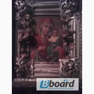 Икона матерь божья 18-19 века