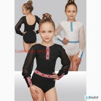 Детский танцевальный купальник для выступлений в украинском стиле
