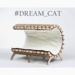 Лежаки для кошек и котов Волна