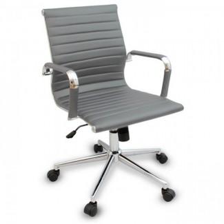 Офисное кресло серого цвета Алабама МNEW