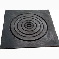 Плита чугунная печная однокомфорочная под казан пд-1к (540 х 540 мм.)
