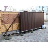 Производства и установка откатных ворот Запорожья