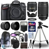 Canon EOS 6D Цифровые зеркальные фотокамеры тела +3 объектива полный комплект США