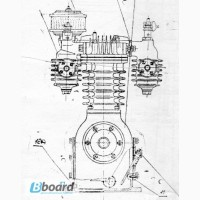 Запчасти на компрессора ГСВ-0, 6/12 модели 155-2В5