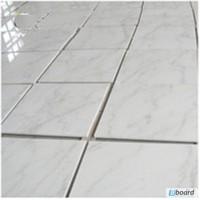 Плитка мраморная Бьянко Каррара (Bianco Carrara) 305х305х10