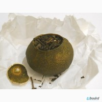 Чай Пуэр в мандарине рецепт 312 в 1 шт 25-28гр