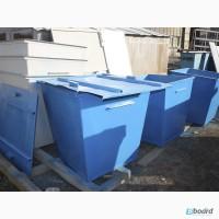 Бак для мусора обьем 0, 75 м.куб. сталь 1, 2 мм