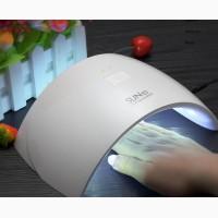 Лампа для ногтей UV-LED SUN 9C, для сушки маникюра-педикюра, 24 Вт, сенсорная, таймер