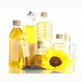 Продукты питания. Подсолнечное масло. Бакалея